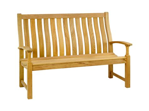 5ft bench roble santa cruz bench 5ft alexander rose
