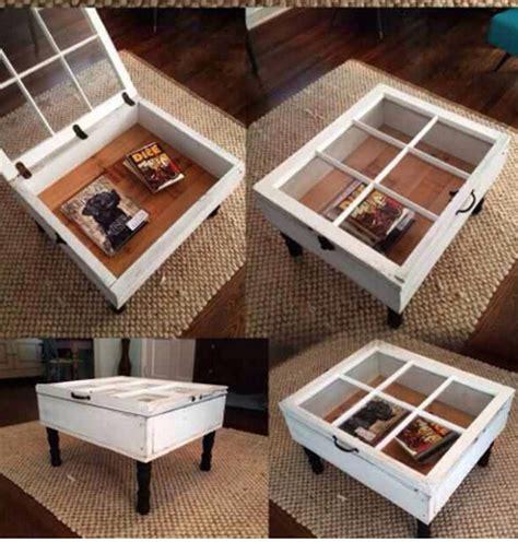 diy window coffee table trusper