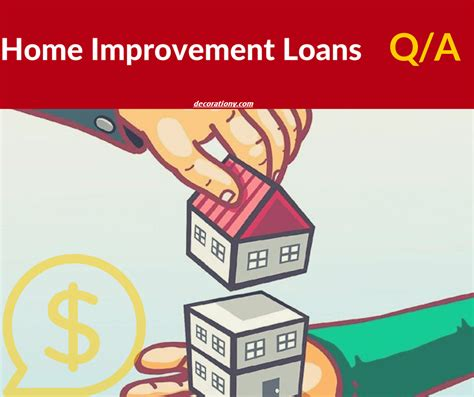 house improvement loan q a home improvement loans what you need to know decorationy