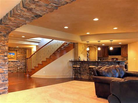 finished basements traditional basement denver by