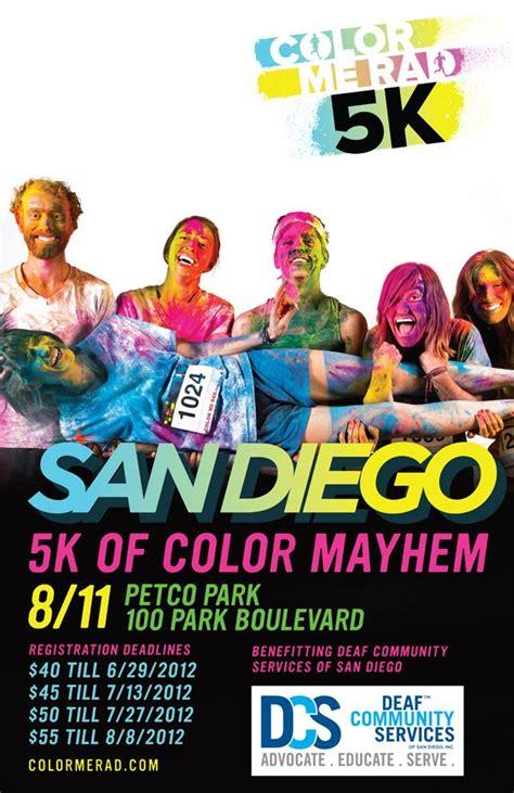 color me rad 5k color me rad 5k poster design races runs poster