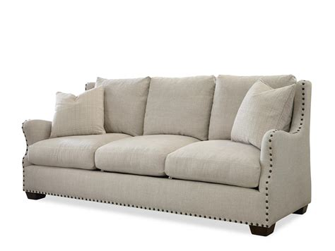nail trim sofa universal connor traditional sofa with nail head trim