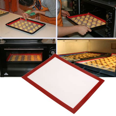 Cooking Mat For Grill by Reusable Bbq Grill Mat 40 30cm Non Stick Cooking Silicone