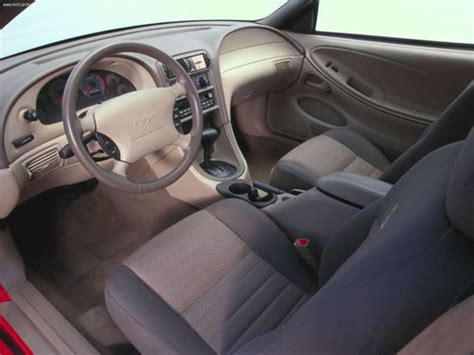 mustang 2000 interior 2000 ford mustang specifications