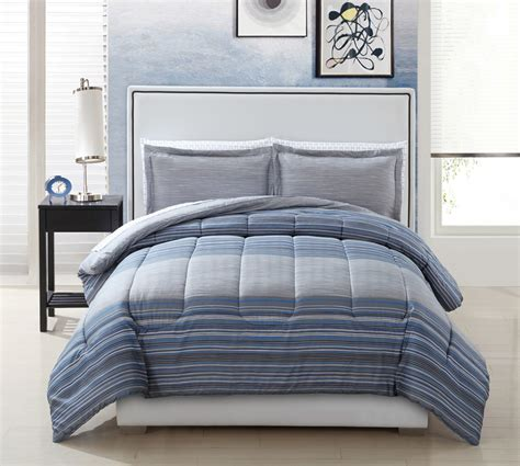 kmart bed in a bag comforter and sheet set pearce stripe home bed