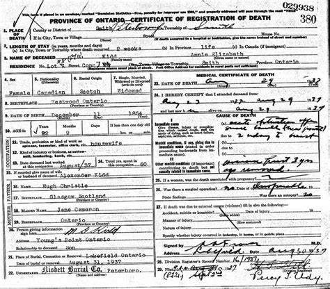 Birth Records Ontario Canada Birth Certificate Ontario Image Collections Birth