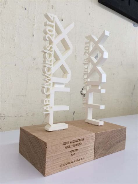 Custom 3d Print Trophy 87 best images about trophies on bespoke acrylics and metals
