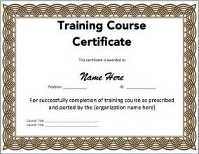 Certificate Template Word by Certificate Template Microsoft Word Templates
