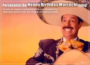 mariachi birthday ecard personalized lyrics milestone birthday ecard american greetings