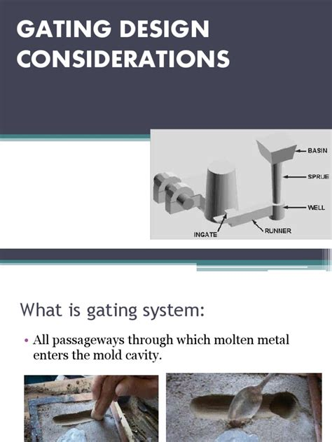 pattern design considerations in casting gating system casting metalworking