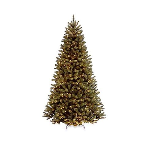 national tree company 9 foot north valley spruce pre lit