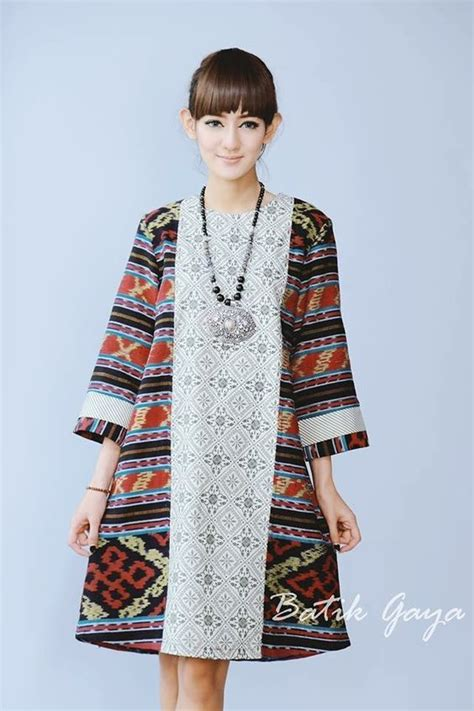 Dress Ethnic Dress Impor Dress Batik Dress Kerja 873 best images about batik tenun on fashion