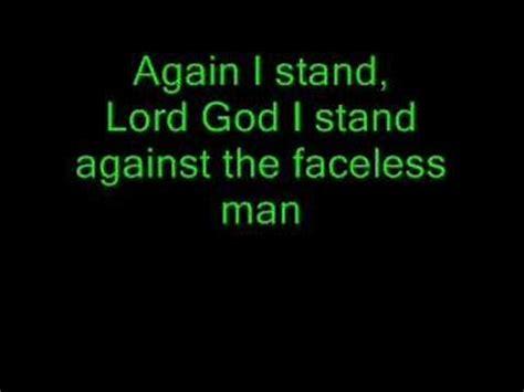 lyrics by mankind lyrics to creed faceless