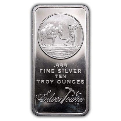10 Oz Silver Bullion Worth - 10 oz silver bar prospector best price free shipping