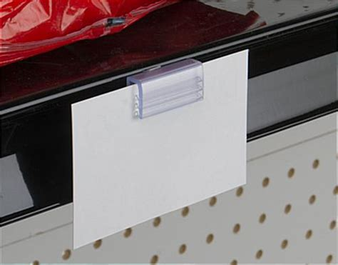 Retail Shelf Talkers by Shelf Talker Clip Retail Shelving Sign 100 Units