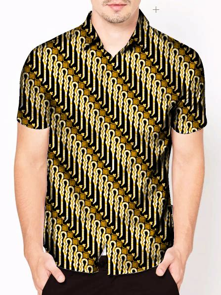 Desain Baju Batik Vektor | cara membuat desain baju kemeja batik dengan photoshop