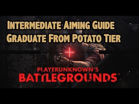 pubg aiming tips console pubg tips ep 11 intermediate aiming guide be one as a