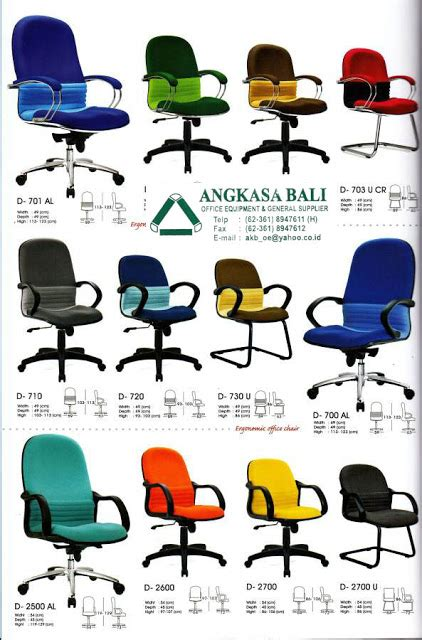 Kursi Kantor Biasa angkasa bali jual kursi kantor meja kerja furniture