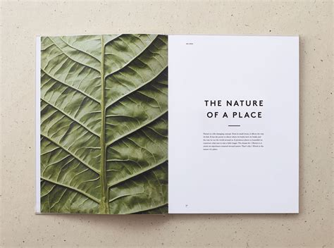 layout design nature 1 hotel branding on behance
