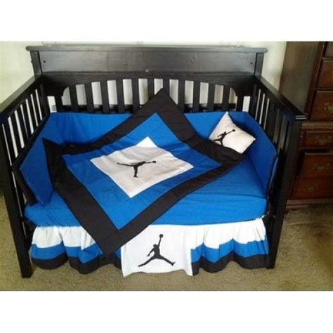 jordan bed set jordans blue and products on pinterest