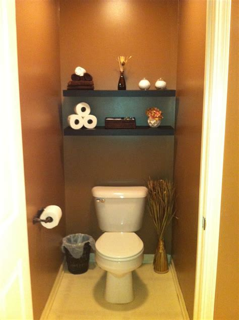 Toilet Decor by Finally Did Our Master Bathroom Toilet Room Got The Idea