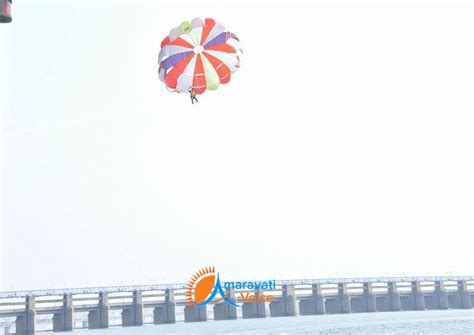 motorboat telugu parasailing in vijayawada bhavani island news