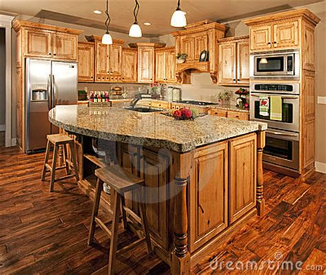 a customised centre island with modern home kitchen center island stock images image