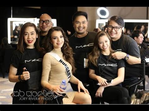 Backstage Mac by Miss Universe 2017 Preliminary Competition Backstage