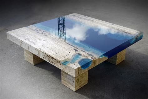 Sal La Table lagoon coffee table by la table hiconsumption