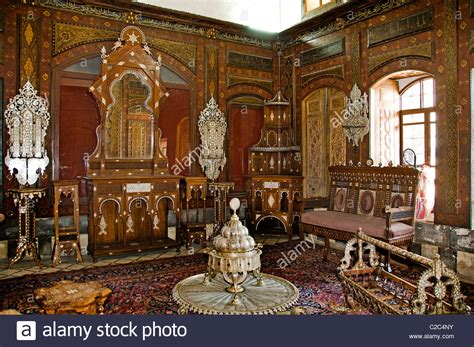 Ottoman Palaces Azam Ottoman Palace House Town Damascus Syria Stock Photo Royalty Free Image 35917223 Alamy
