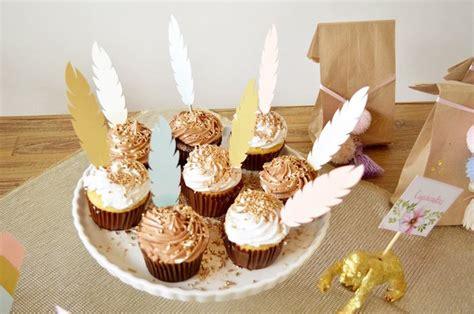 karas party ideas cupcakes   boho baby shower