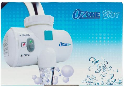 ozoneboy water sanitizer attaches   sink faucets