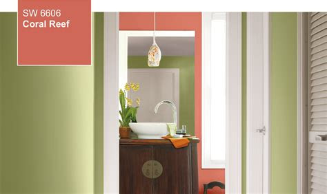sherwin williams color of the year 2015 color of the year coral reef sw 6606 by sherwin williams