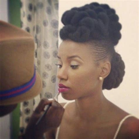natural hairstyles for christmas party natural hair updo styles for the holiday page 4
