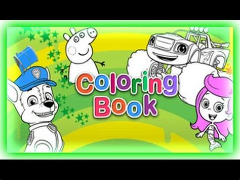 nick jr coloring book nick jr coloring book