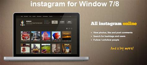 instagram for pc free download install instagram for pc window 7 8 xp