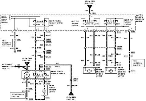 ford windstar power window switch diagram html