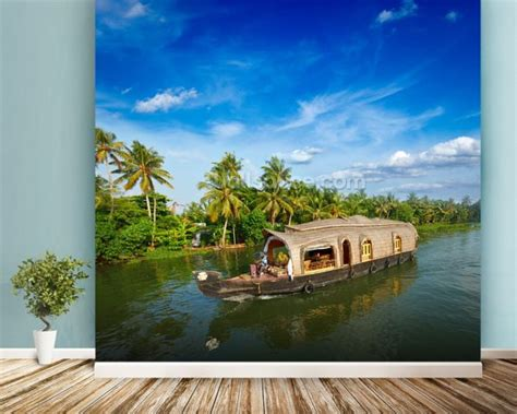 wallpaper for walls kerala kerala backwaters wallpaper wall mural wallsauce