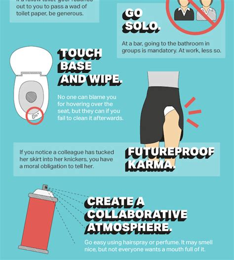 office bathroom etiquette infographic the ultimate guide to office bathroom