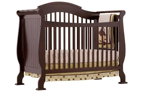 fixed side convertible crib storkcraft valentia fixed side convertible crib espresso