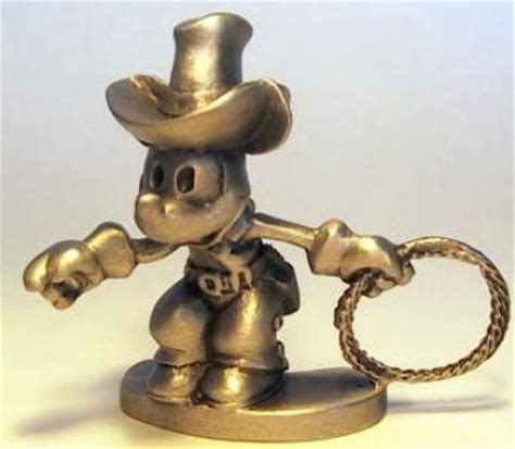 cowboy mouse film cowboy mickey mouse pewter figure from our pewter