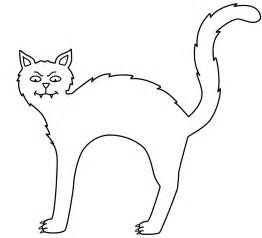 printable coloring pages gt halloween black cat gt 39349 halloween black cat coloring pages 5
