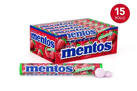 Mentos Roll Strawberry 1 32 Ounce mentos chewy mint roll strawberry easter basket