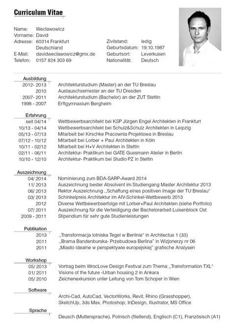 German Resume Sample - German Resume Format Resume Format - UN ...
