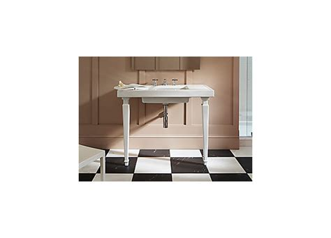 kohler kathryn console table bathroom kohler