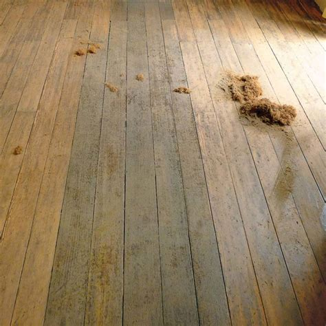 how to scrape wood floors house restoration