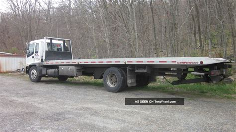 tow truck bed 3 car flat bed tow truck gmc 2001