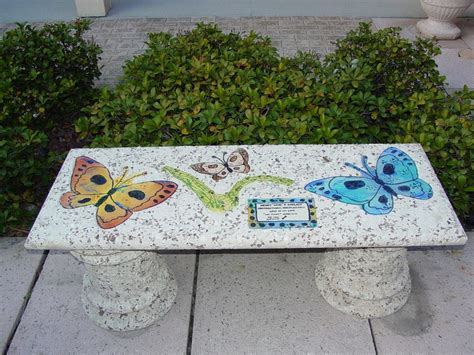 memory benches personalized memorial urns and benches the clay place