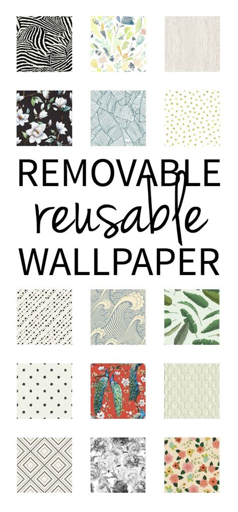 reusable removable wallpaper     limited time