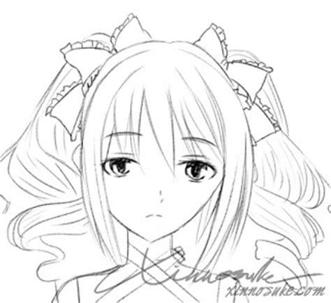 tutorial menggambar pdf tutorial paint tool sai menggambar sketsa manga close up